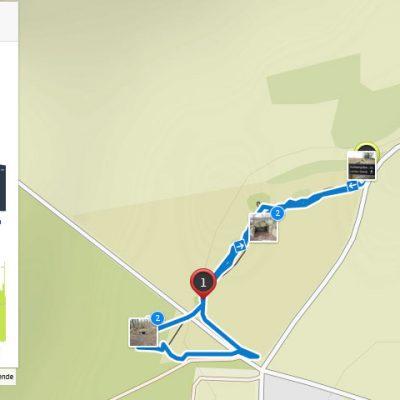 Route Lancken-Granitz