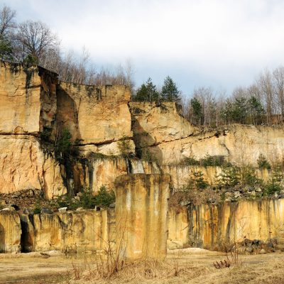 Der alte Steinbruch