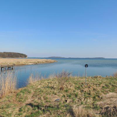 Blick Richtung Insel Vilm