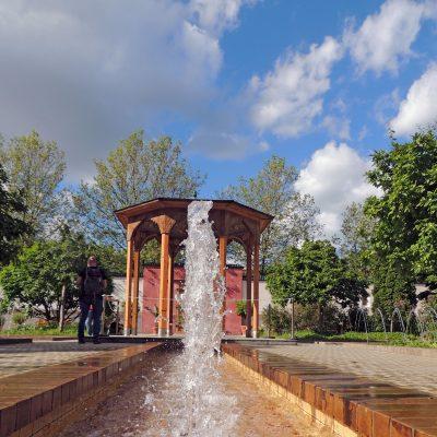 Und wieder ein Springbrunnen 😉 Diesmal im Orientalischen Garten