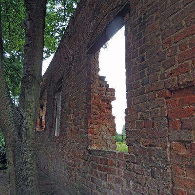 Außenfassade des ehemaligen Schlossanbaues