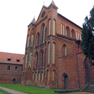Rückseite der Klosterkirche