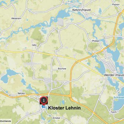 Lage Kloster Lehnin