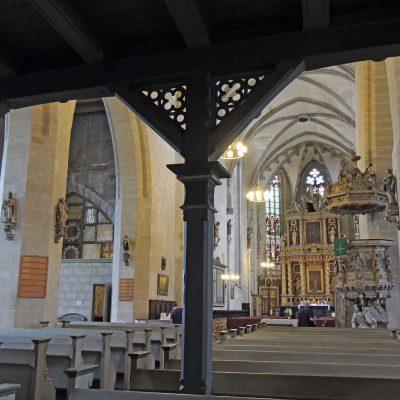 Blick Richtung Altar