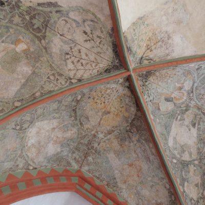 Malereien in der Mariae-Himmelfahrt-Kapelle