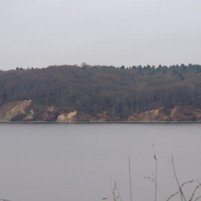 Blick zur Steilküste von Lietzow