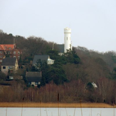 Blick zum Schloss Lietzow