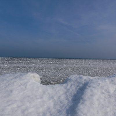 Eiswasser und ganz hinten ...