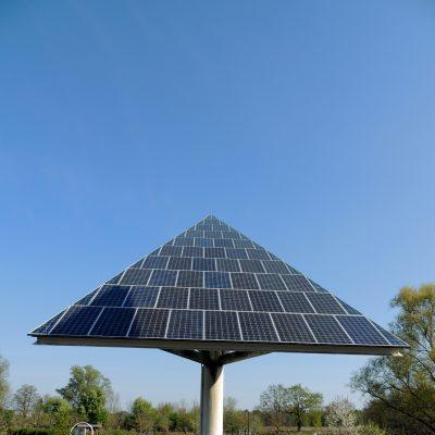 Photovoltaikanlage vor dem Wildpark