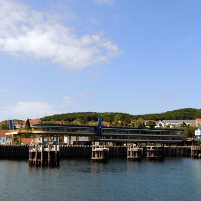 Der alte Fährhafen