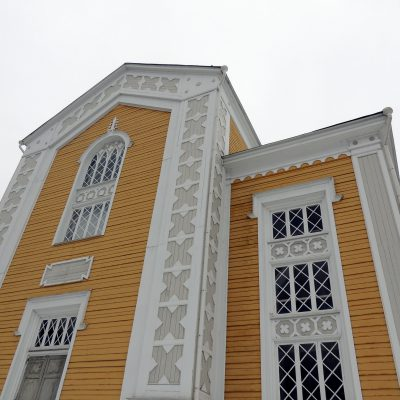Die größte Holzkirche der Welt