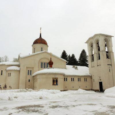 Hauptkirche vom Kloster Neu Valamo