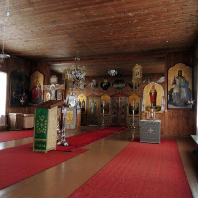 In der ersten Kirche (Nutzung nur im Sommer)