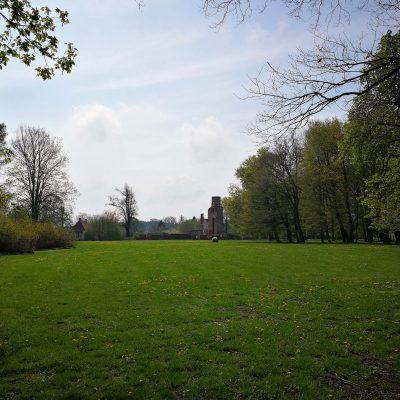 Blick zur Schlossruine
