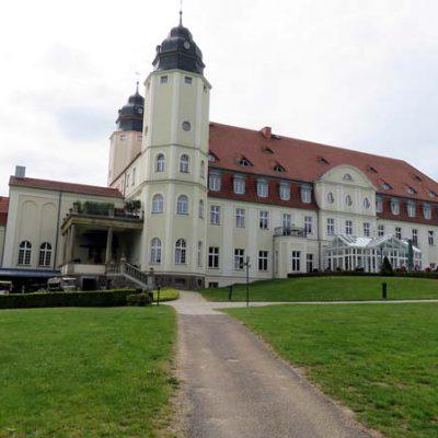 Das Schloss von Göhren-Lebbin (Hotel)