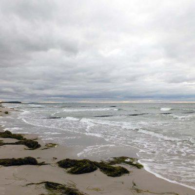Der Strand an der Westseite