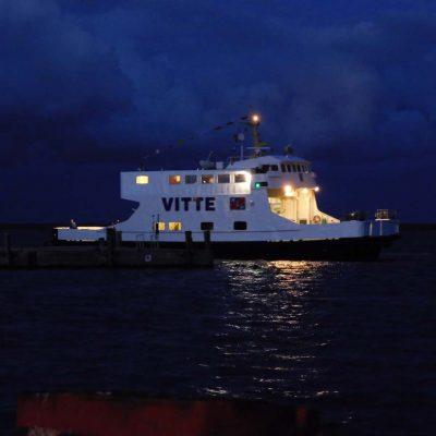 Eine der Fähren