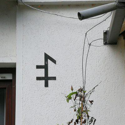 Hausmarke (Zeichen für die Besitzzugehörigkeit)