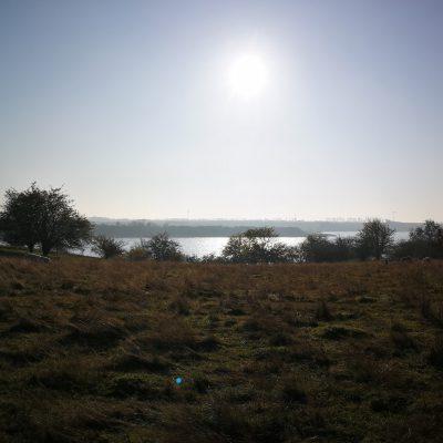 Blick von der Halbinsel Richtung Festland