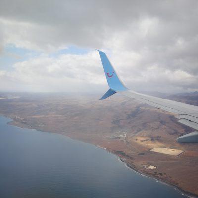 Anflug auf Gran Canaria
