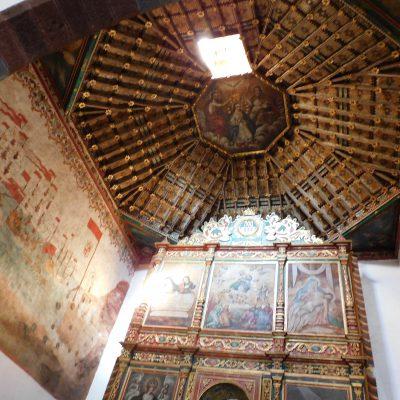 in der Kirche Iglesia De La Asunción