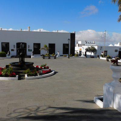 Plaza de la Constitución in Teguise