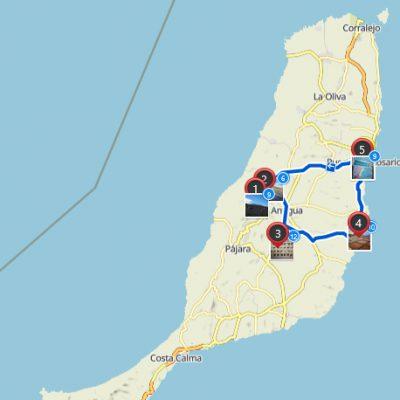 Route Fuerteventura