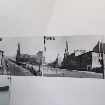 Bilder vom Mauerbau